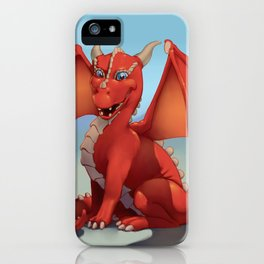 Monster of the Week: Red Dragon iPhone Case