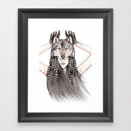 Feral Heart Framed Art Print