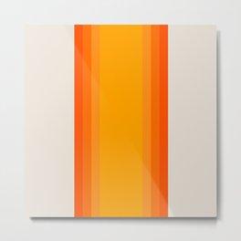 Sunrise Rainbow - Straight Metal Print