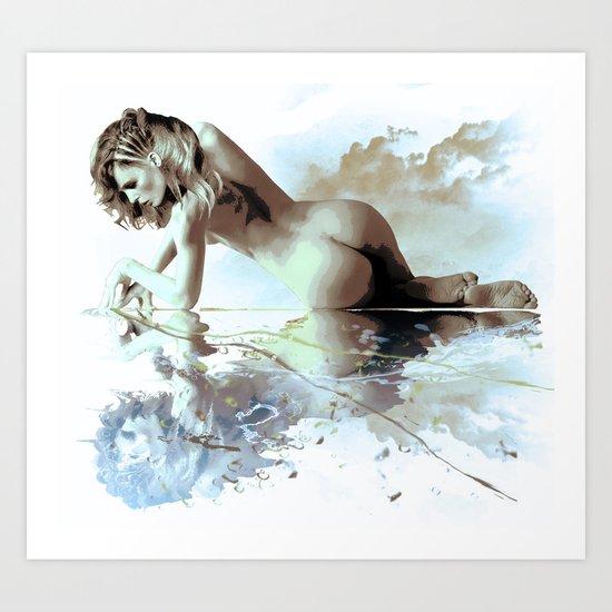 Blue Hour Art Print