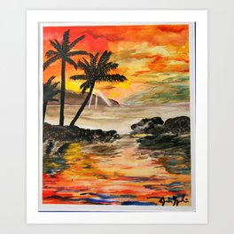 Sunny and 75 Art Print