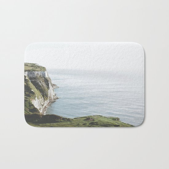 White Cliffs of Dover (full) Bath Mat