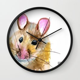 Inky Mouse Wall Clock