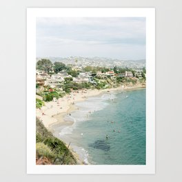 Laguna Beach Lookout Art Print