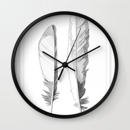 Pica Pica Fly Fly Wall Clock