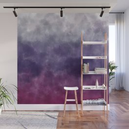 ombre watercolor Wall Mural