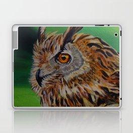 Acrylic Owl Painting Laptop & iPad Skin