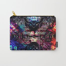 circuit board shadow Carry-All Pouch