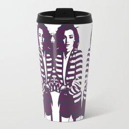 Miranda Kerr Stripes Travel Mug