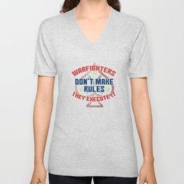 Dream Plan Execute T-shirt Design Warfighters Unisex V-Neck