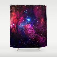 galaxy Shower Curtains featuring Galaxy! by Matt Borchert