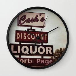 Cash's Wall Clock