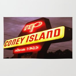 Small Town Coney Island Rug