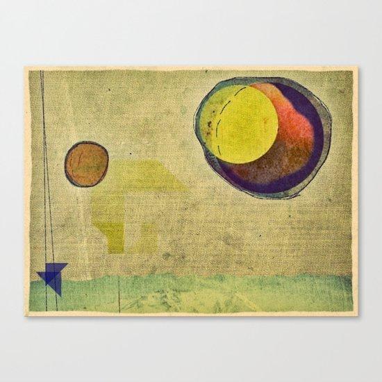 beyond planets Canvas Print