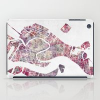 venice iPad Cases featuring VENICE by MapMapMaps.Watercolors