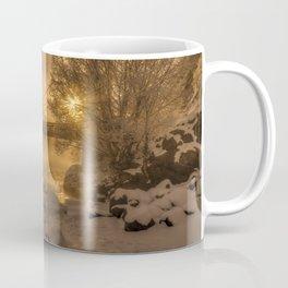 Frosty Riverside Coffee Mug
