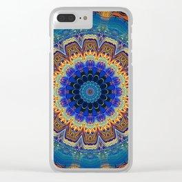 Very Bohemian Bright Mandala Clear iPhone Case