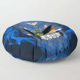 To The Core Collection: New York Floor Pillow