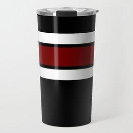 Team Colors 2...Maroon/white Travel Mug