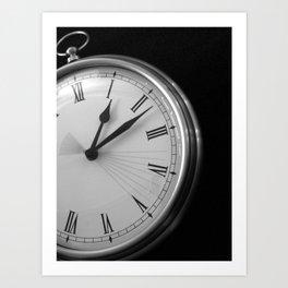 Eight Seconds Art Print