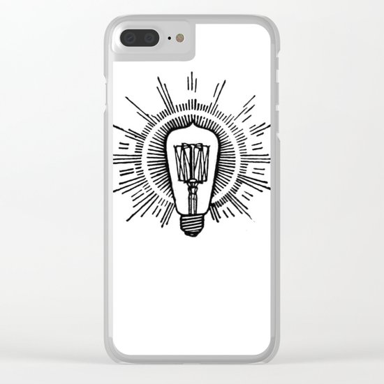 Lightbulb Clear iPhone Case