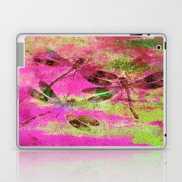 Mauritius Vintage Dragonflies Colours J Laptop & iPad Skin