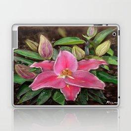 ORIENTAL LILY Laptop & iPad Skin