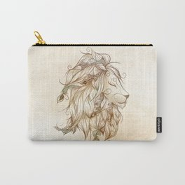 Poetic Lion Carry-All Pouch