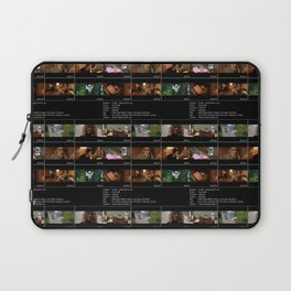 Lives In A Beetlebum Blurry House Laptop Sleeve