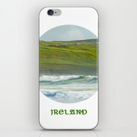 ireland iPhone & iPod Skins featuring Ireland by Dustin Hall