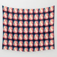 patriotic Wall Tapestries featuring Patriotic Liberty Collage by politics
