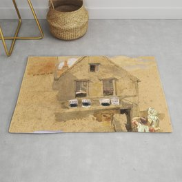 Little House on the Prairie – Country Girls  Rug