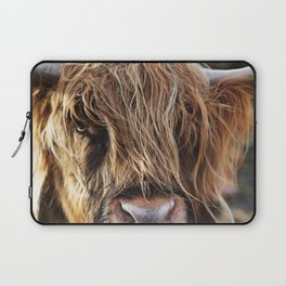 Highland Cow Print II Laptop Sleeve
