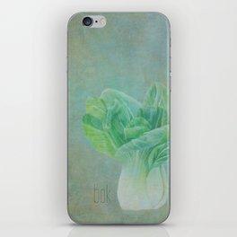 Bok Choy Still Life  iPhone Skin