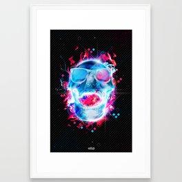 Skullstar Framed Art Print
