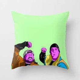 Strike Back! Throw Pillow
