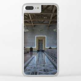 Los Angeles Union Station Interior Clear iPhone Case