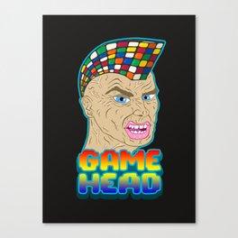 GAME HEAD Canvas Print