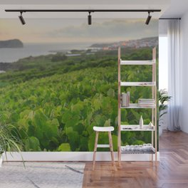 Grapevines and islet Wall Mural