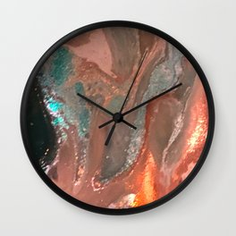 Golden Suncoast Wall Clock