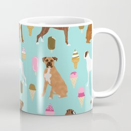 boxer ice cream dog lover pet gifts cute boxers pure breeds Coffee Mug