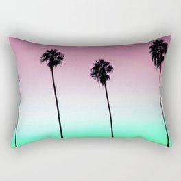 Pastel Palm trees Rectangular Pillow