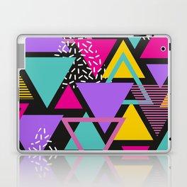 Memphis Triangles Laptop & iPad Skin
