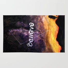 don't stop believing Rug