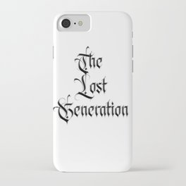The lost Generation - Fight the Epidemic iPhone Case