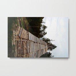 Hut Metal Print