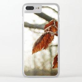 Tenacity No. 1 Clear iPhone Case