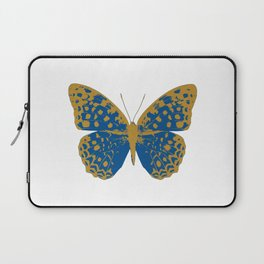 Blue Butterfly Laptop Sleeve