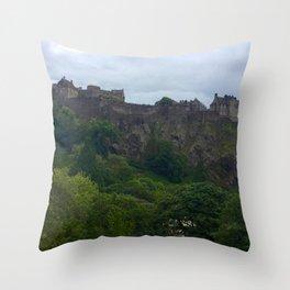 Edinburgh Castle, Scotland, photo 2 Throw Pillow