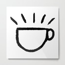 yay coffee Metal Print